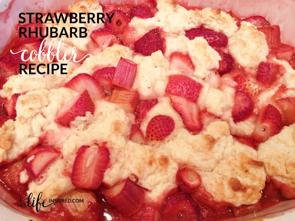 Strawberry Rhubarb Cobbler Recipe1