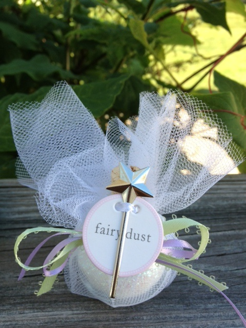 tinkerbell fairy dust favor