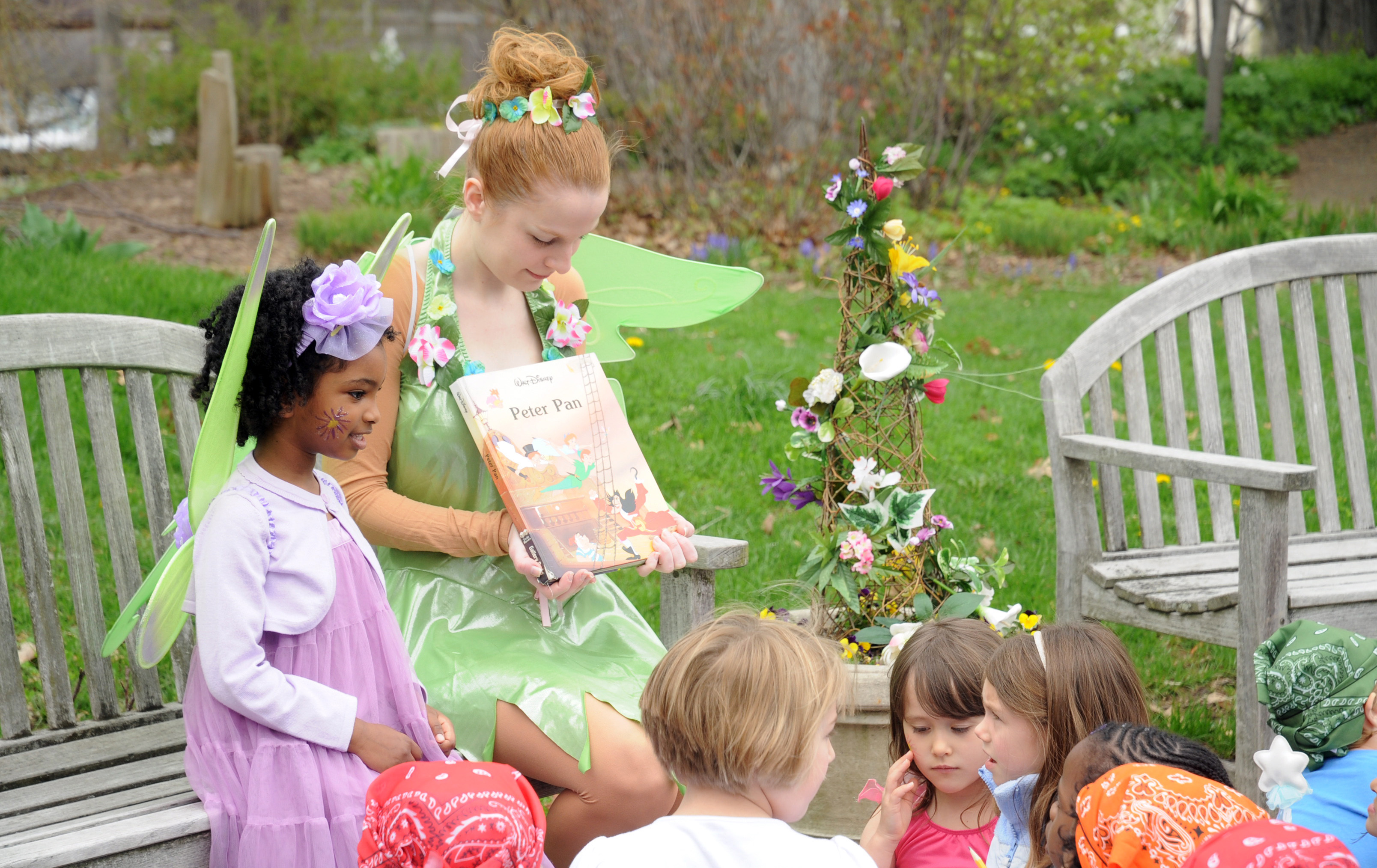 tinkerbell storytime