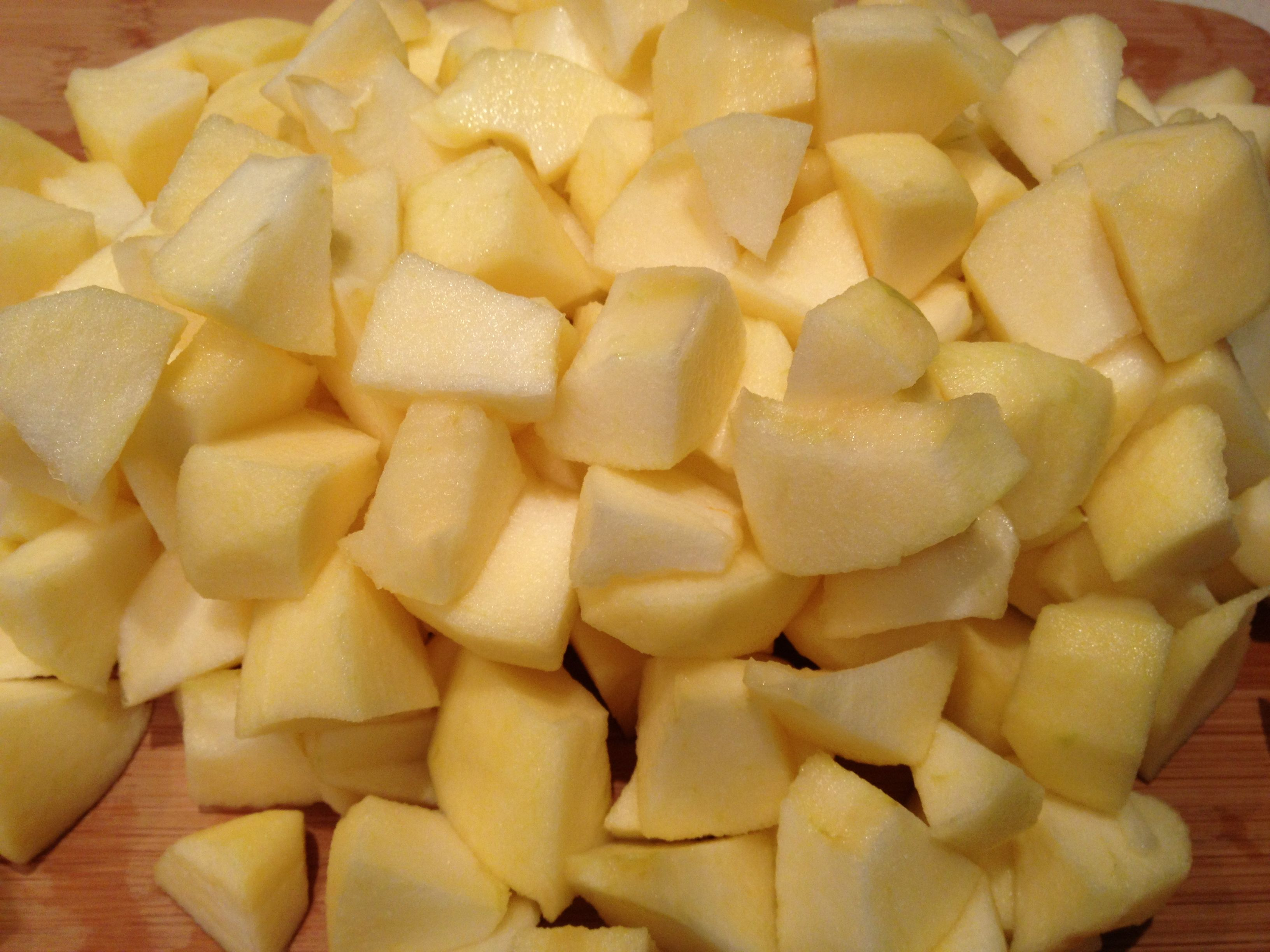 apples diced