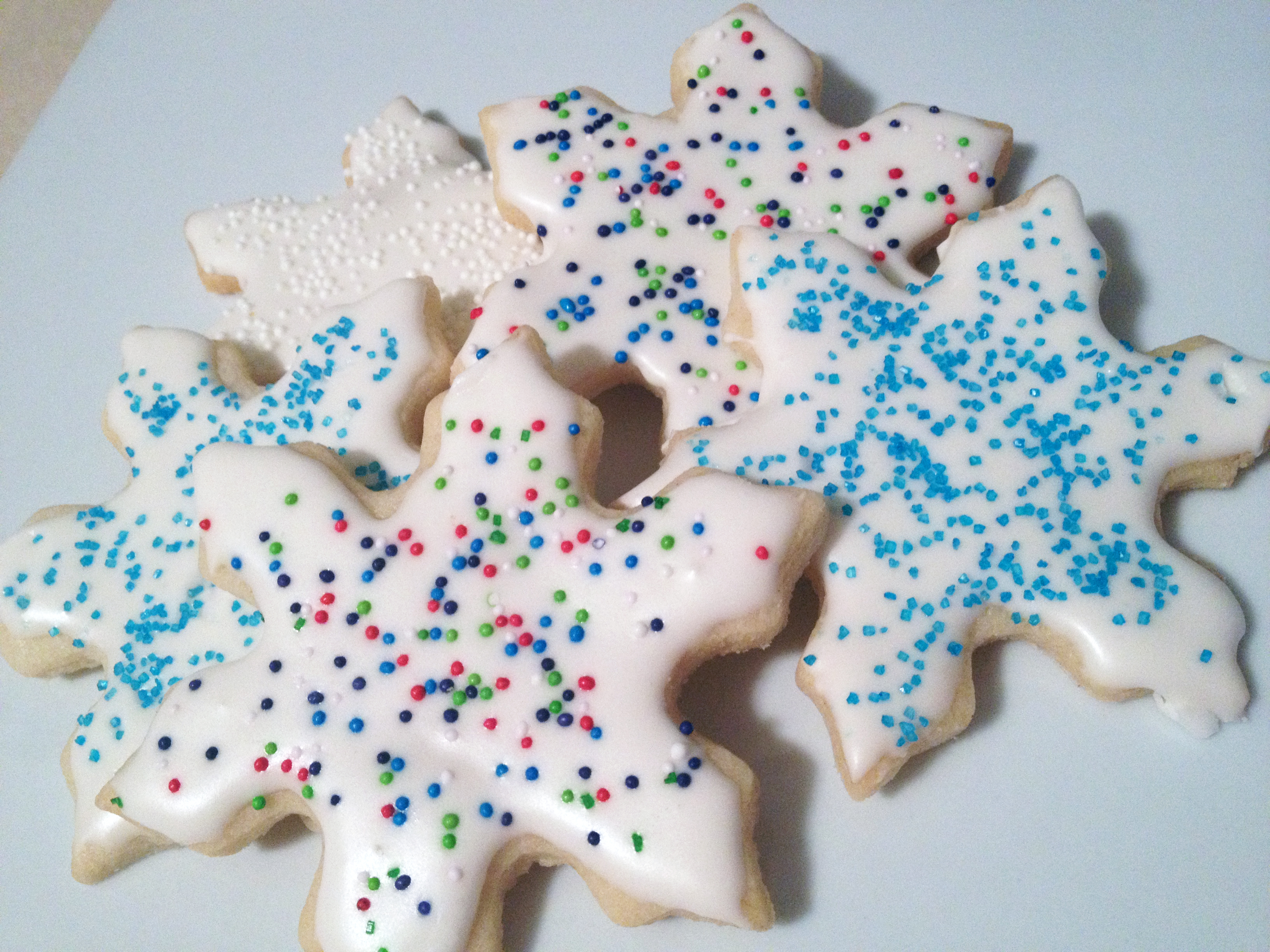 sugar cookies decorated