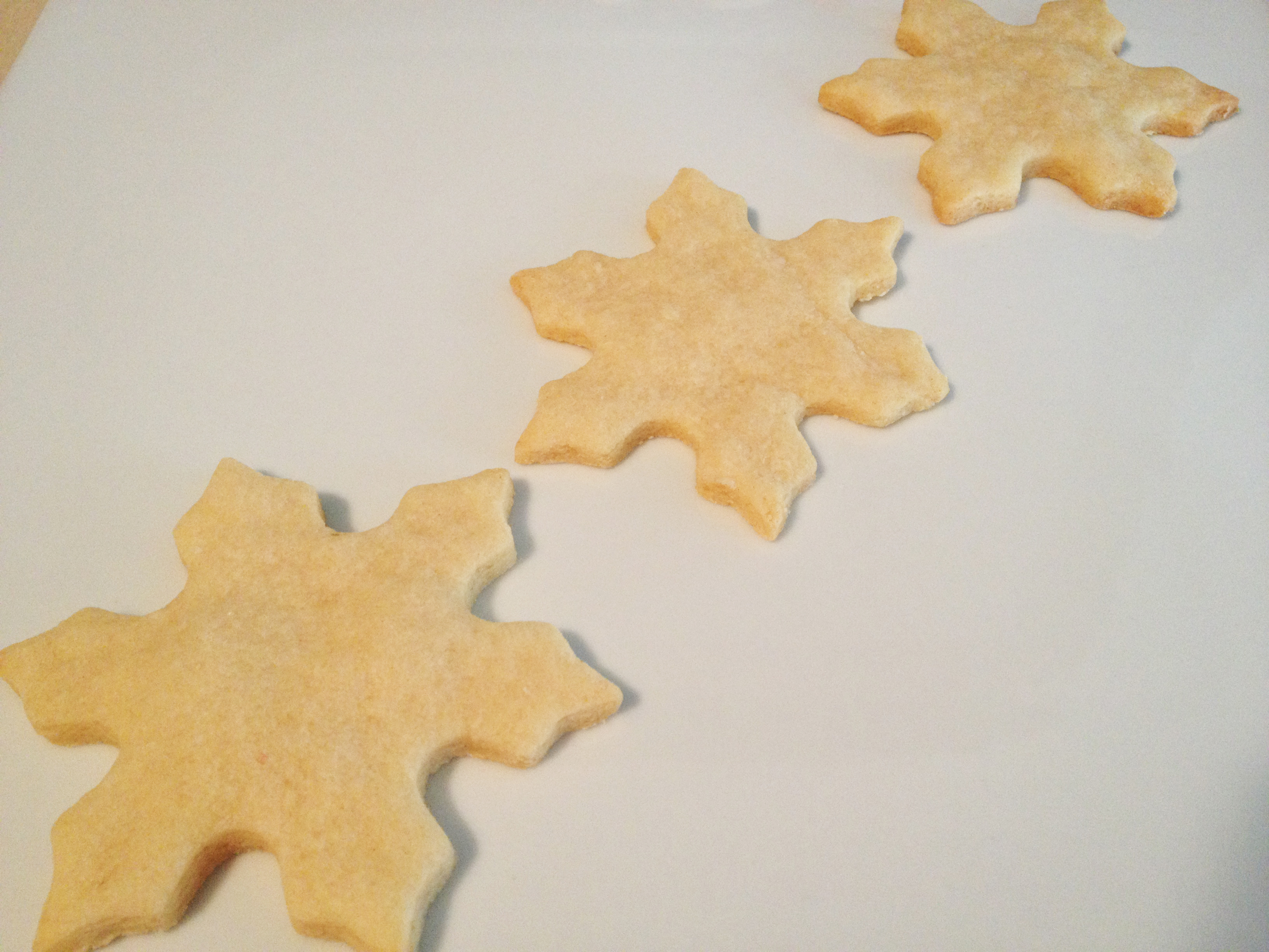 sugar cookies plain
