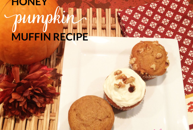 Honey Pumpkin Muffin Recipe