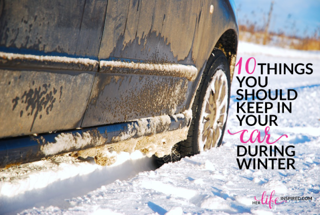 10 Things You Should Keep In Your Car During Winter