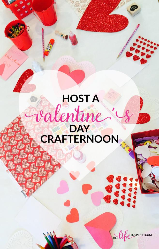 Host A Valentine's Day Crafternoon