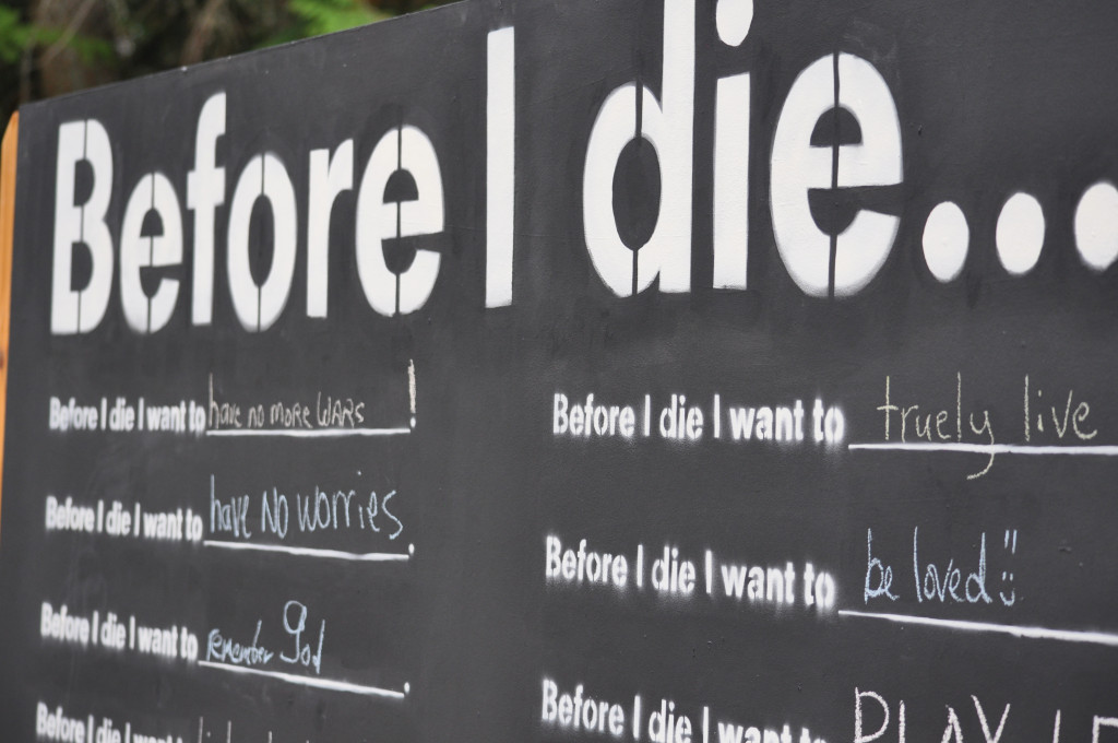 Before I Die: 5 Lessons About Living Life To The Fullest