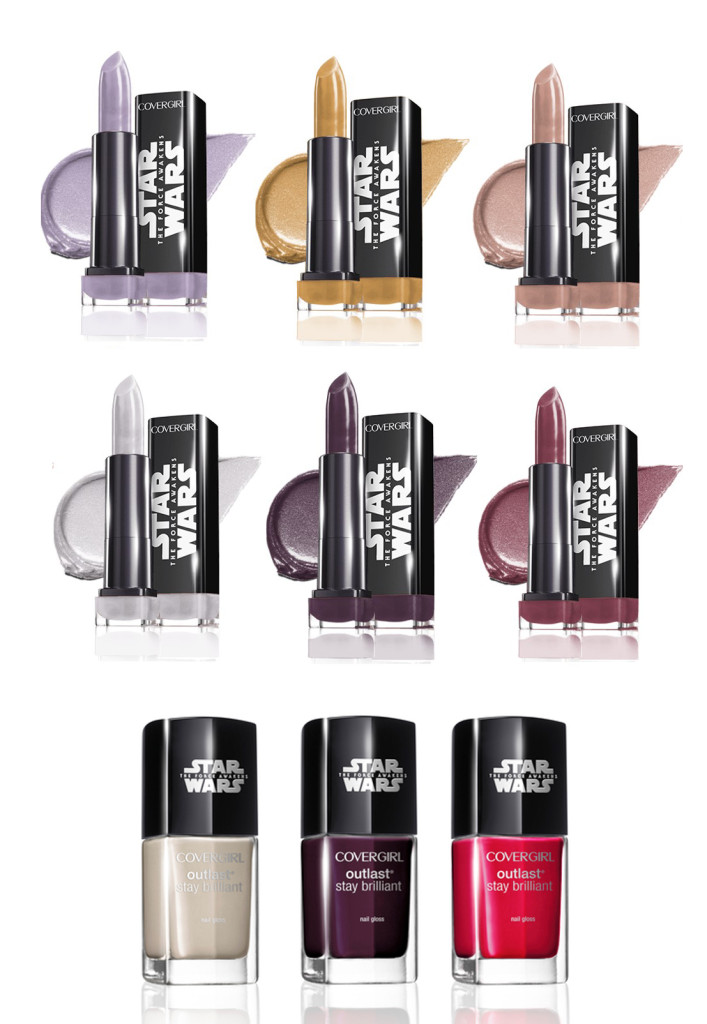 CoverGirl-Star-Wars collection