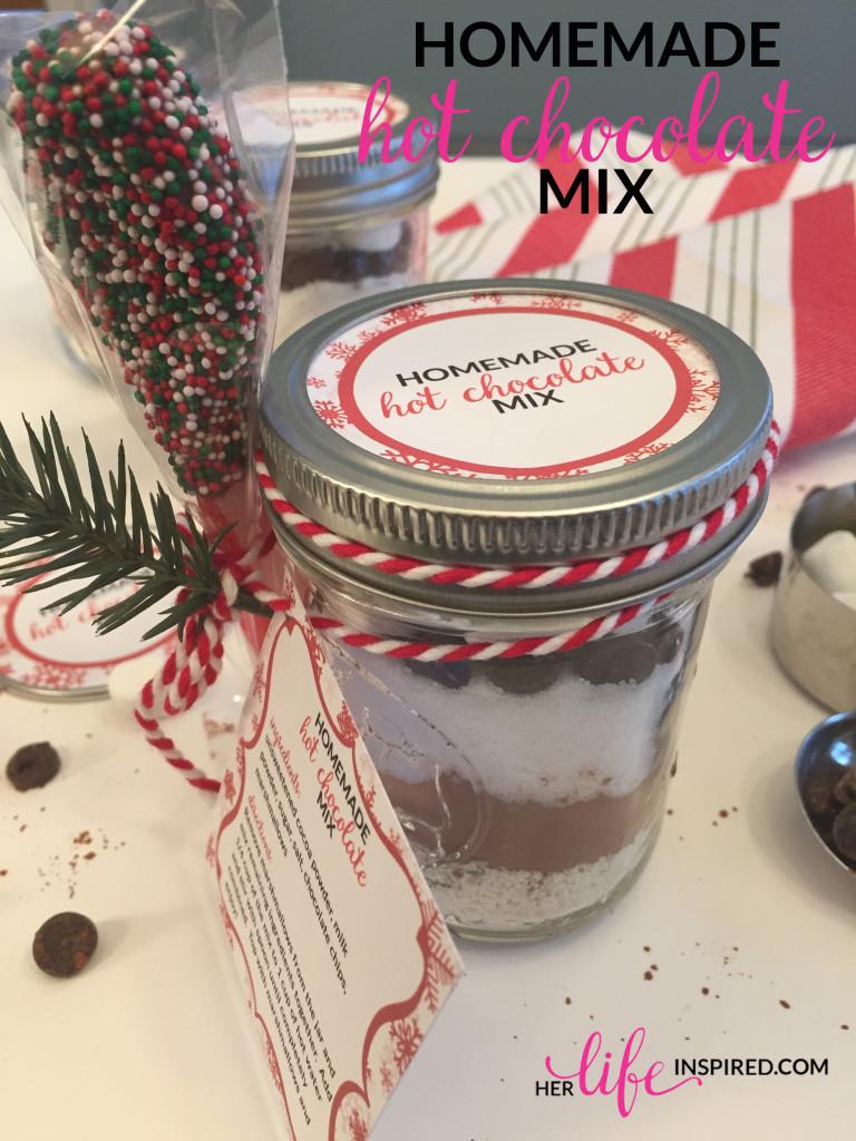 Homemade Hot Chocolate Mix 1