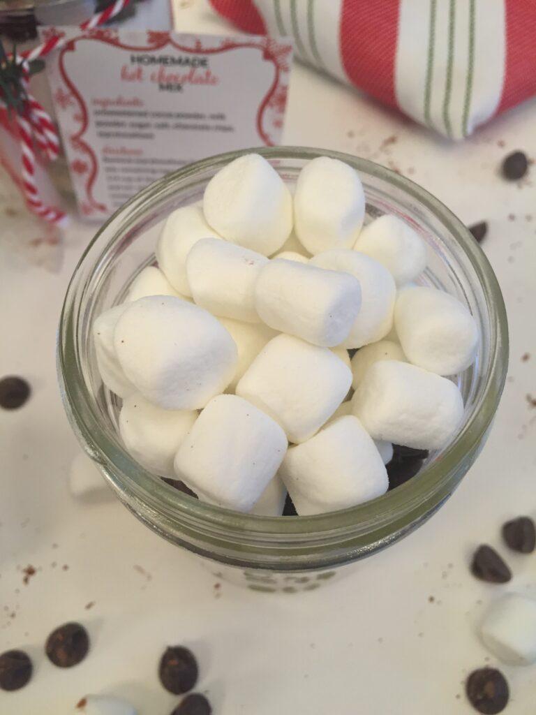 Homemade Hot Chocolate Mix-Marshamallows