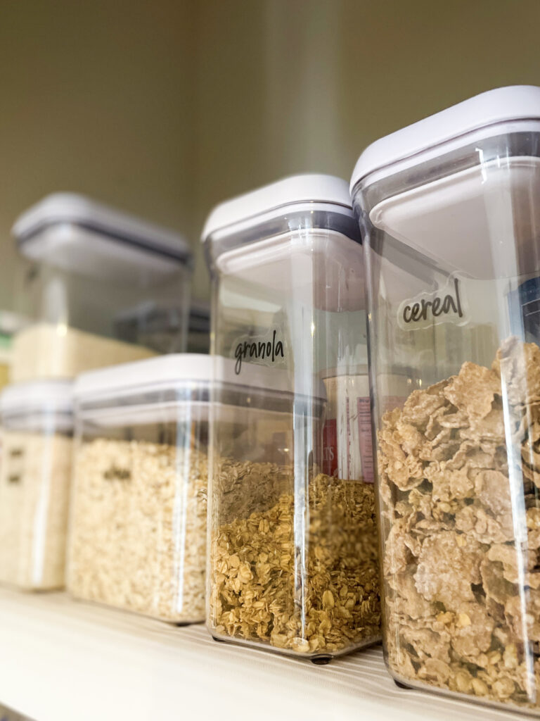 how to organize your pantry 2